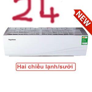 Điều hòa nagakawa NS-A24TL điều hòa nagakawa 24000btu 2 chiều Rẻ