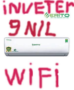 Erito V10HS1 điều hòa Erito inverter 9000btu 2 chiều