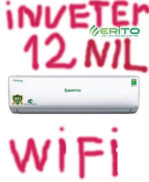 Erito V15HS1 điều hòa Erito inverter 12000btu 2 chiều