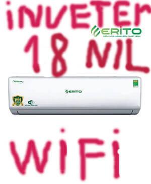 Erito V20HS1 điều hòa Erito inverter 18000btu 2 chiều