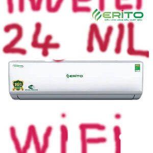 Erito V25HS1 điều hòa Erito inverter 24000btu 2 chiều