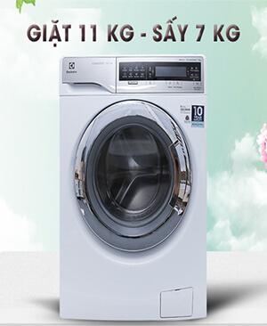 Máy giặt sấy Electrolux EWW14113 inverter 11kg
