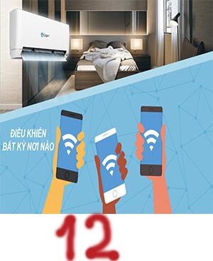 Điều hòa casper SC-12TL22 12000BTU 1 chiều wifi giá rẻ 2019