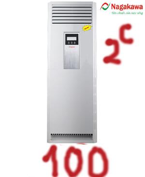 Điều hòa tủ đứng nagakawa NP-A100DL 100000btu 2 chiều-Vua giá Gốc