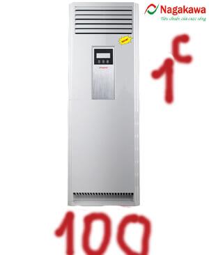 Điều hòa tủ đứng nagakawa NP-C100000DL 100000btu 1 chiều-Giá Gốc