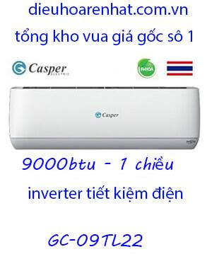 Điều Hòa Casper GC-09TL22. 9.000btu 1 chiều Inverter-Vua giá gốc