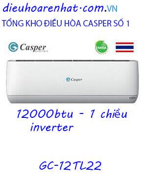 Điều Hòa Casper GC-12TL22. 12000btu 1 chiều Inverter-Vua giá gốc