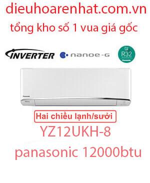Điều hòa Panasonic 2 chiều 12.000BTU inverter YZ12UKH-8 vua giá gốc