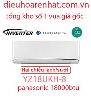 Điều hòa Panasonic 2 chiều 18000BTU inverter YZ18UKH-8 vua giá gốc