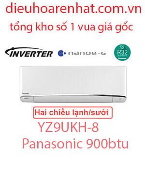 Điều hòa Panasonic 2 chiều 9.000BTU inverter YZ9UKH-8 vua giá gốc. (1)