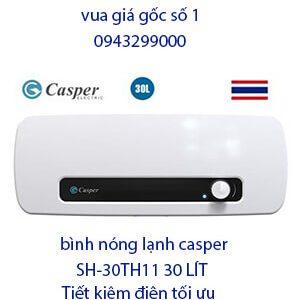 Bình nóng lạnh casper SH-30TH11 30 lít giá rẻ -vua giá gốc