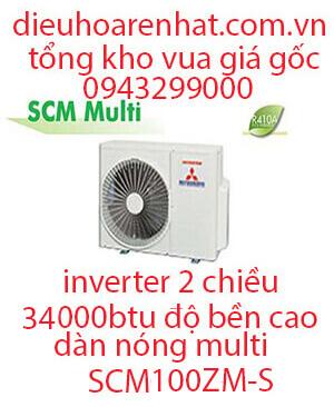 Điều hòa Multi Mitsubishi Heavy dàn nóng 2 chiều 34.000BTU SCM100ZM-S