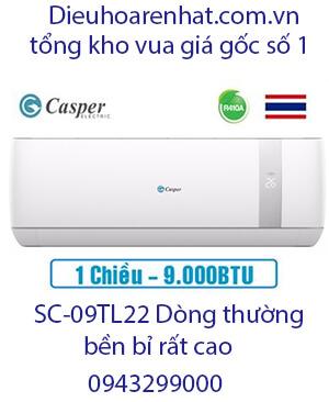 Casper SC-09TL22 điều hòa casper 9000btu 1 chiều-Vua giá Gốc
