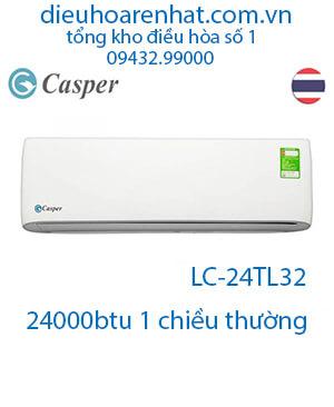 Điều hòa Casper 24000BTU 1 chiều LC-24TL32-VUA GIÁ GỐC