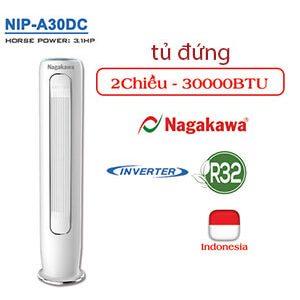 Điều hòa tủ đứng Nagakawa 2 chiều inverter 30000Btu NIP-A30DC