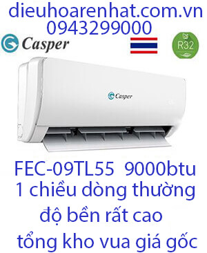 Casper FEC-09TL55 ,Điều hòa casper 9000btu 1 chiều gas R32 (1)