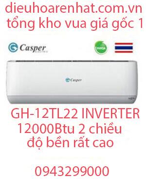 Casper GH-12TL22 Điều hòa casper 12000btu 2 chiều inverter