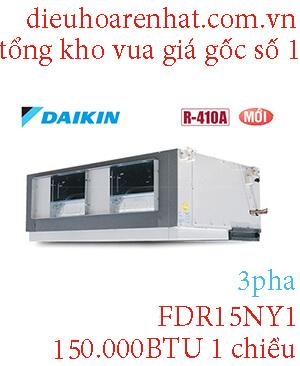 Điều hòa giấu trần nối ống gió Daikin 150.000BTU 1 chiều FDR15NY1.1