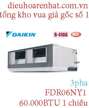 Điều hòa giấu trần nối ống gió Daikin 60.000BTU 1 chiều FDR06NY1.1