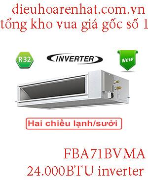 Điều hòa nối ống Daikin 24.000BTU inverter FBA71BVMA.1