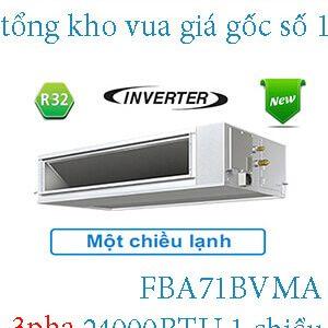 Điều hòa nối ống gió Daikin inverter 24.000BTU 3 pha FBA71BVMA .2