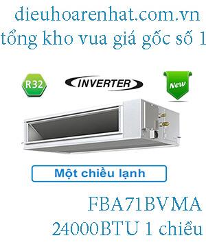 Điều hòa nối ống gió Daikin inverter 24.000BTU FBA71BVMA.1