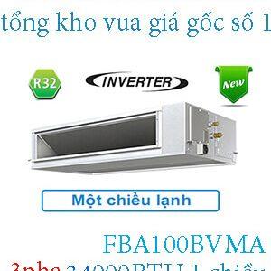 Điều hòa nối ống gió Daikin inverter 34.000BTU 3 pha FBA100BVMA.2