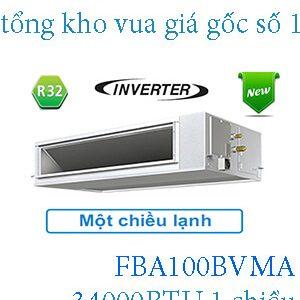 Điều hòa nối ống gió Daikin inverter 34.000BTU FBA100BVMA.1