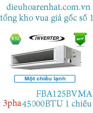 Điều hòa nối ống gió Daikin inverter 45.000BTU 3 pha FBA125BVMA..2