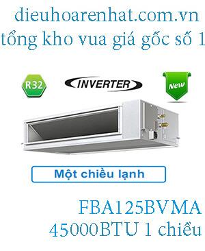 Điều hòa nối ống gió Daikin inverter 45.000BTU FBA125BVMA.1