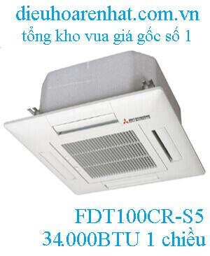 Điều hòa âm trần Mitsubishi Heavy 1 chiều 34.000BTU FDT100CR-S5/FDC100CR-S5