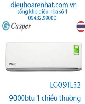 Điều hòa Casper 9000BTU 1 chiều LC-09TL32