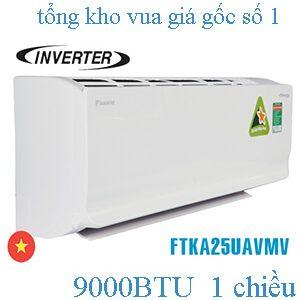Điều hòa Daikin inverter 1 chiều 9000BTU FTKA25UAVMV..jpg1