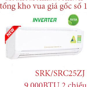 Điều hòa Mitsubishi heavy 2 chiều Inverter 9.000BTU SRK,SRC25ZJ..jpg1
