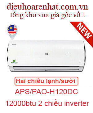 Điều hòa Sumikura 2 chiều 12.000BTU APS/APO-H120