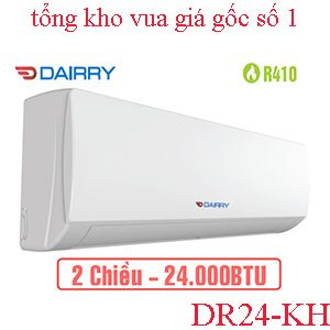 Điều hòa Dairry 24000BTU 2 chiều DR24-KH