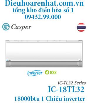 Điều hòa Casper 18000BTU 1 chiều inverter IC-18TL32