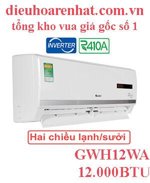 Điều hòa Gree inverter 12.000BTU GWH12WA-K3D9B7I
