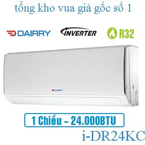 Điều hòa Dairry inverter 24000BTU 1 chiều i-DR24KC