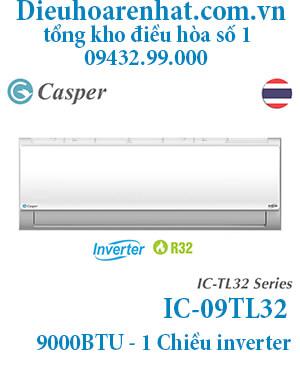 Điều hòa Casper inverter 9000BTU 1 chiều IC-09TL32