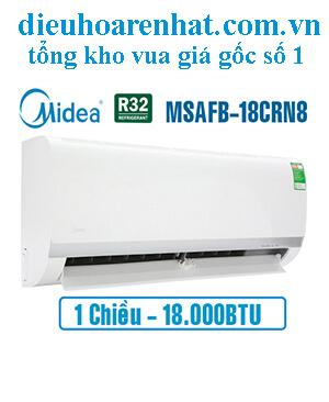 Điều hòa Midea 1 chiều 18.000BTU MSAFB-18CRN8