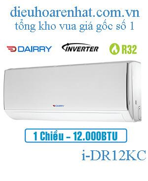 Điều hòa Dairry inverter 12000BTU 1 chiều i-DR12KC