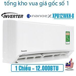 Điều hòa Panasonic NanoeX 12000BTU 1 chiều inverter XPU12WKH-8..jpg1