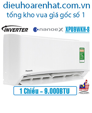 Điều hòa Panasonic NanoeX 9000BTU 1 chiều inverter XPU9WKH-8..jpg1