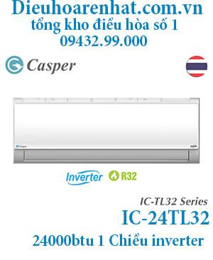 Điều hòa Casper 24000BTU 1 chiều inverter IC-24TL32