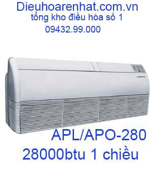 Điều hòa áp trần Sumikura 1 chiều 28000BTU APL/APO-280