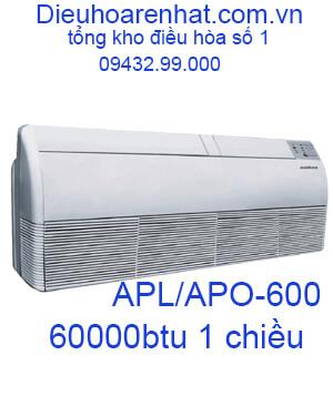 Điều hòa áp trần Sumikura 1 chiều 60000BTU APL/APO-600