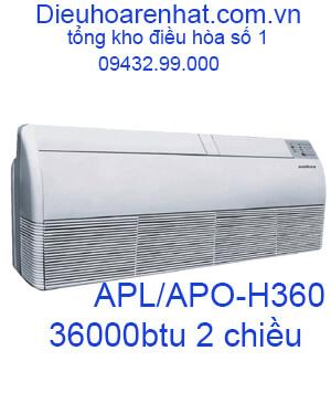 Điều hòa áp trần Sumikura 2 chiều 36000BTU APL-APO-H360