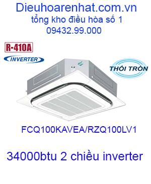 Điều hòa âm trần Daikin 34000BTU 2 chiều FCQ100KAVEA/RZQ100LV1