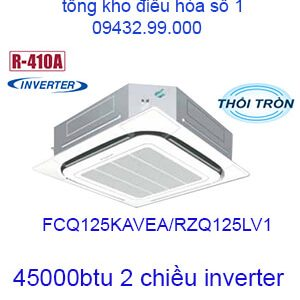 Điều hòa âm trần Daikin 45000BTU 2 chiều FCQ125KAVEA/RZQ125LV1